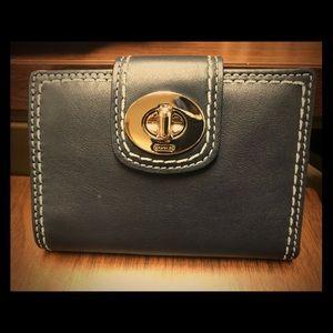 Coach Periwinkle Clasp Wallet